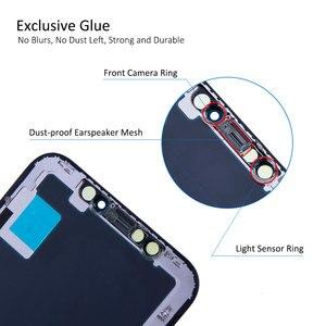 Image 4 - Elekworld sınıfı yumuşak OLED GX için iPhone X LCD ekran 3D dokunmatik ekran Digitizer meclisi yedek parçalar esnek OLED