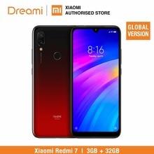 Küresel Sürüm Xiaomi redmi 7 32 GB ROM 3 GB RAM (Marka Yeni ve mühürlü kutu) redmi 7