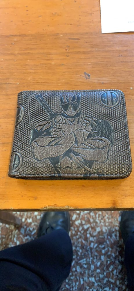 wallet men  marvel Joker/black panther/Star Wars/Batman/deadpool/ vintage Wallets with card holder Zipper coin pocket purse new photo review