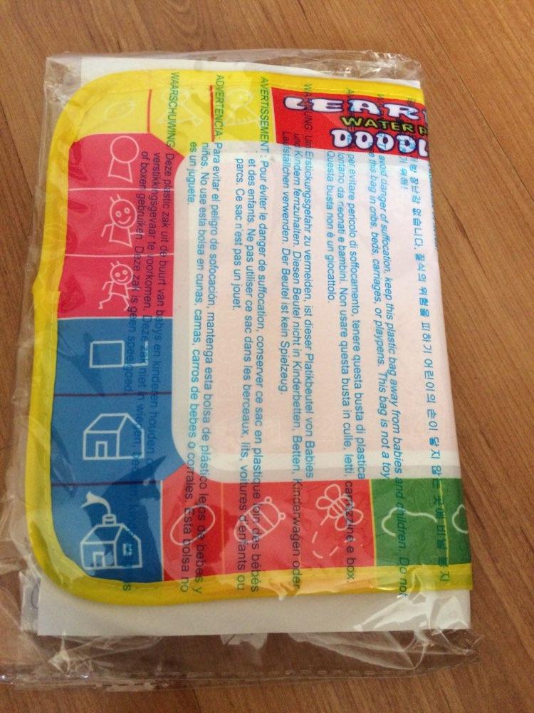 1 шт. 29X19 см 4 цвета мини воды рисунок коврик & 1 Волшебное перо для детей 1366- 1