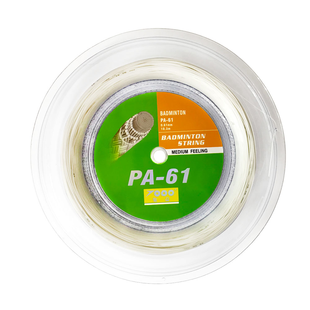TOPO 0 61mm thinnest PA61 reel Badminton String 200m