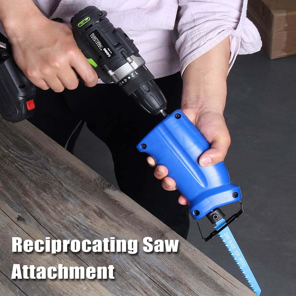 Reciprocating saw from the drill - it is possible