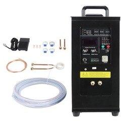 جهاز تسخين حثي 15KW 30-80 KHz عالية التردد جهاز تسخين حثي فرن LH-15A 220 V