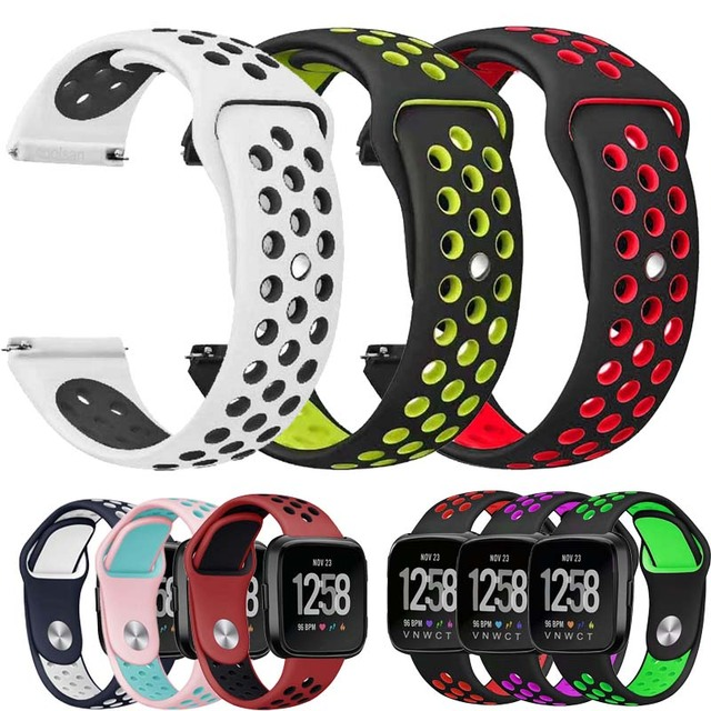 Rubber Strap for Samsung Gear S3 S2 sport Frontier Classic Silicone Watch Band x