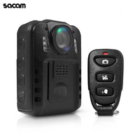 SASAM Police Body Worn Camera Ambarella A7L50 HD 1296P policia IR Light DVR Video matraque t lescopique policial Recorder