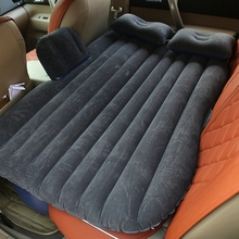Automotive Car Air Mattress Travel Bed Inflatable Camping Sofa Back Seat Cushion Good Quality For bmw e87 f34