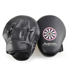 AUPCON Boxing Pads for Muay Thai Kick Boxing Gloves Training PU Foam Boxer Target Pad