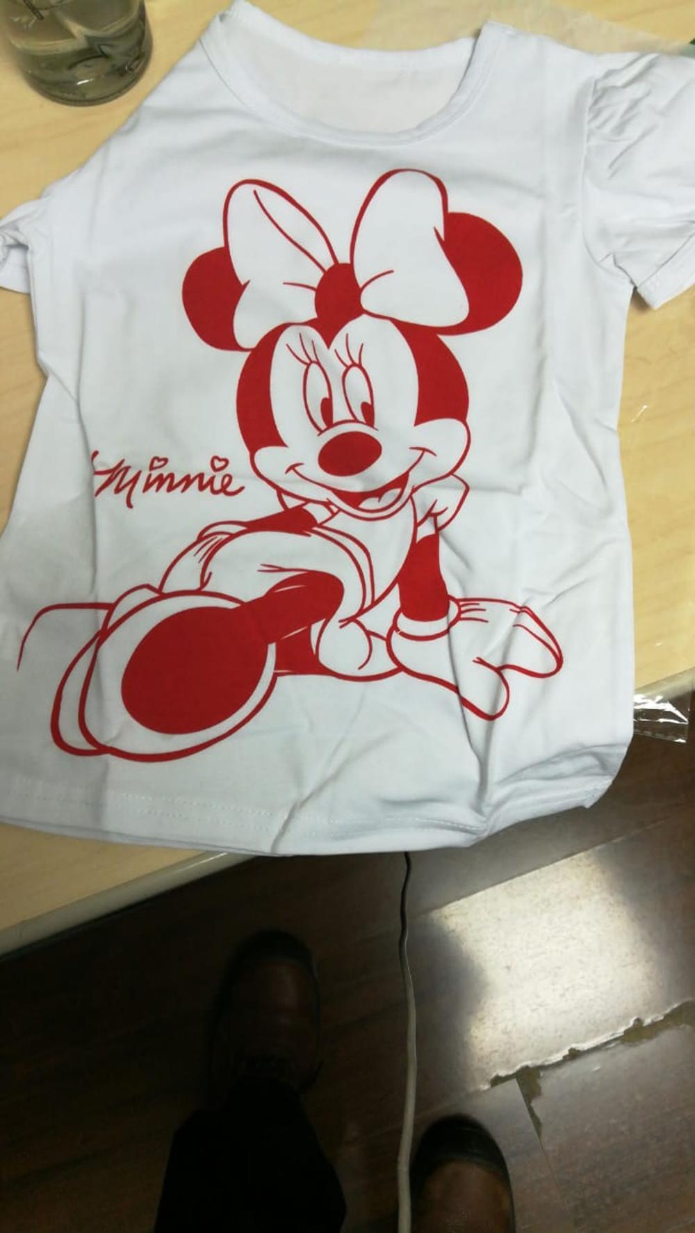 Seartist Baby Girls Minnie Tshirt Girl Hello Kitty Cartoon T-shirts Bebes Girl Shorts T Shirt Baby Girl Clothes Tees 2019 New 10