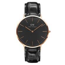 Наручные часы Daniel Wellington Classic Reading 40 мм RG Black