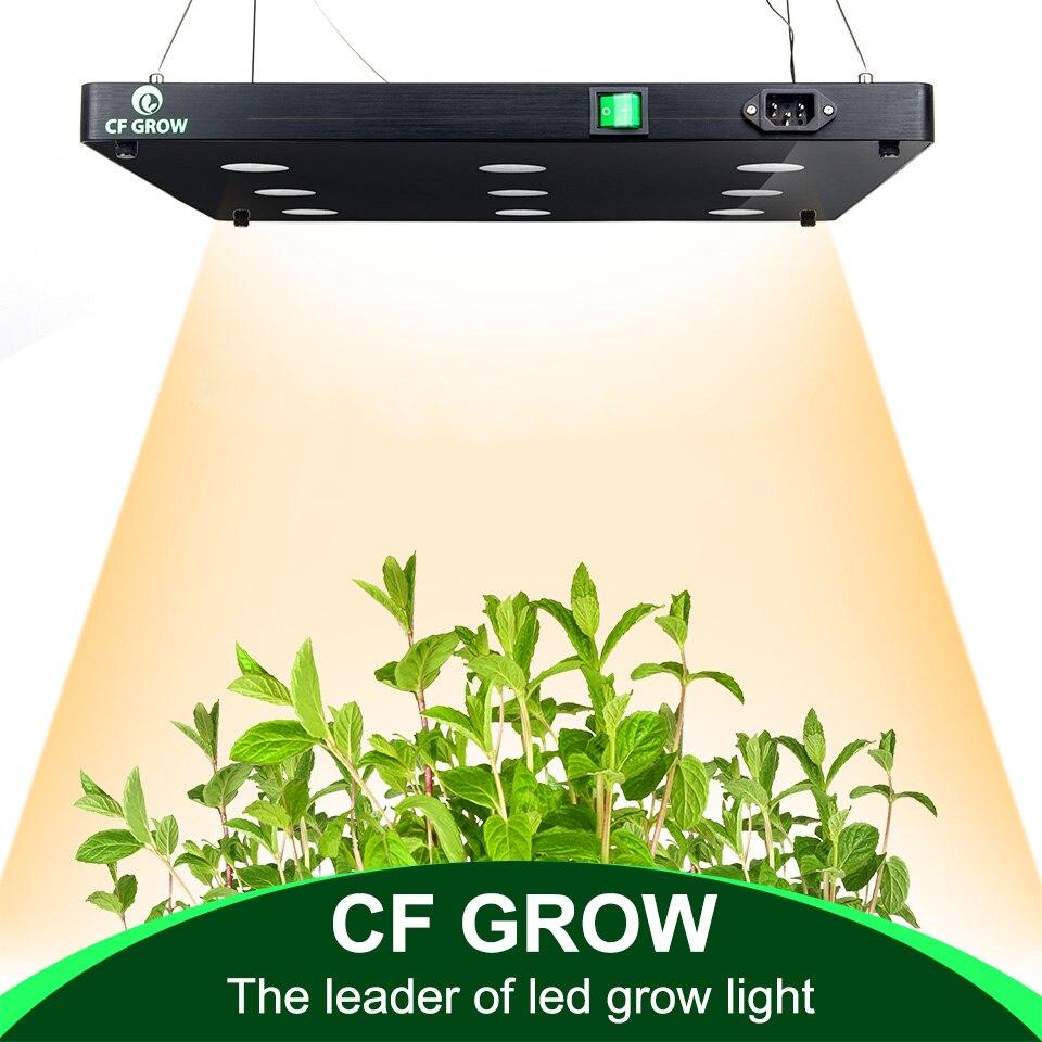 Ultra-mince COB LED Usine Élèvent La Lumière Plein Spectre BlackSun S4 S6 S9 LED Panneau Lampe pour Hydroponique Intérieure plantes Toute La Croissance Stade