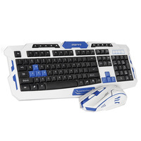 High Quality Keyboard Mouse Combos USB Wireless Gaming Keyboard and Mouse Set 10m Receiving Distance Computer Peripherals