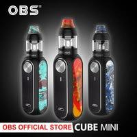 Original OBS Cube Mini Kit with 1500 mAh Built in Battery E cigarette vape Kit
