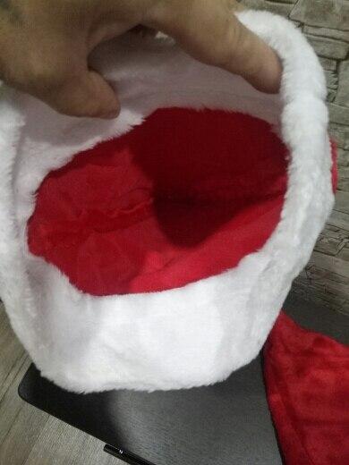 Высокое качество Плюшевые рождественские шляпы для взрослых детей рождественские шапки Chiristmas вечерние принадлежности шляпа 2018 рождественские украшения для дома