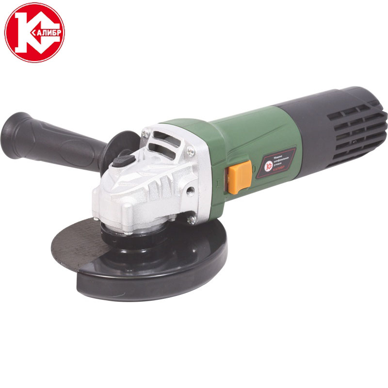 Kalibr MSHU-125/1055 Angle Grinder Grinding Machine Metal Polisher Angular Power Tool Metal and Wood cutting,sanding polishing high voltage hongyuan hy t60 60w flyback transformer co2 laser power supply engraving cutting machine