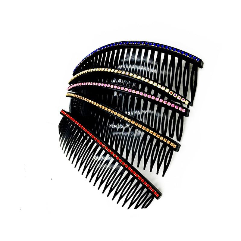 New Fashion  Hair Combs  Accessories Pearl Beaded Crystal Hairpin Flower Hair Pin Stick Wedding Headwear Jewelry Headwear