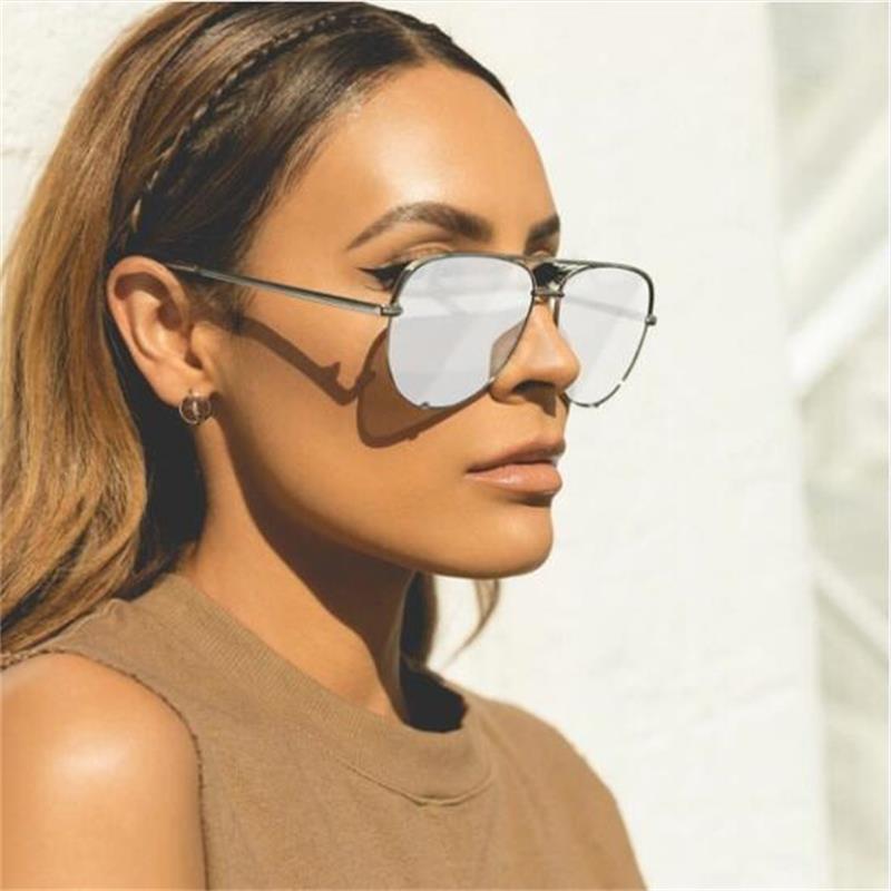 New black sunglasses women's brand designer fashion ladies sun glasses for women pilot 2018 luxury shades lunettes femme UV400 4