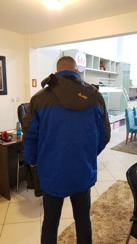 Jaquetas de esqui grande grande jaqueta
