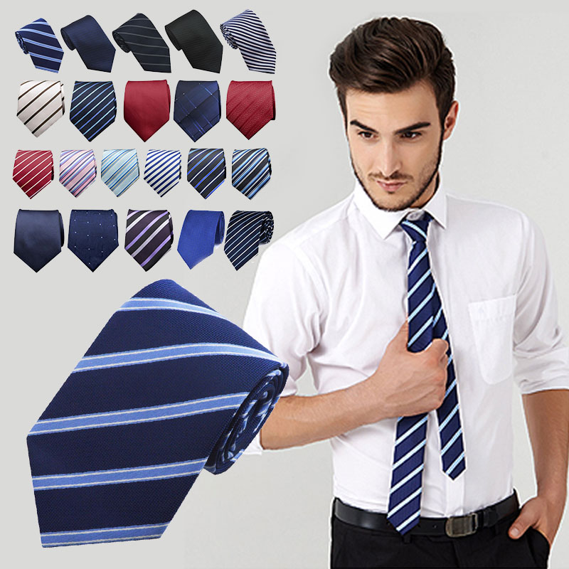 Men Neck Ties New Man Fashion 20 Style Social Slim Business Wedding Office Work Stage Formal Male Corbata Gentlemen Neck Tie