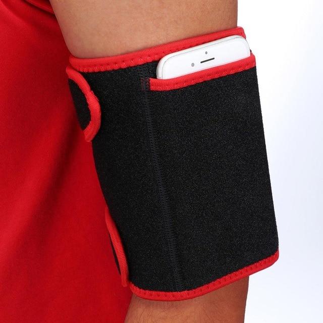 HEYME 1 Pair Neoprene Arm Trimmers Slimming Sauna Sweat for Women Men Weight Loss Arm Shaper Muscle Slim Belt Fat Burning 3