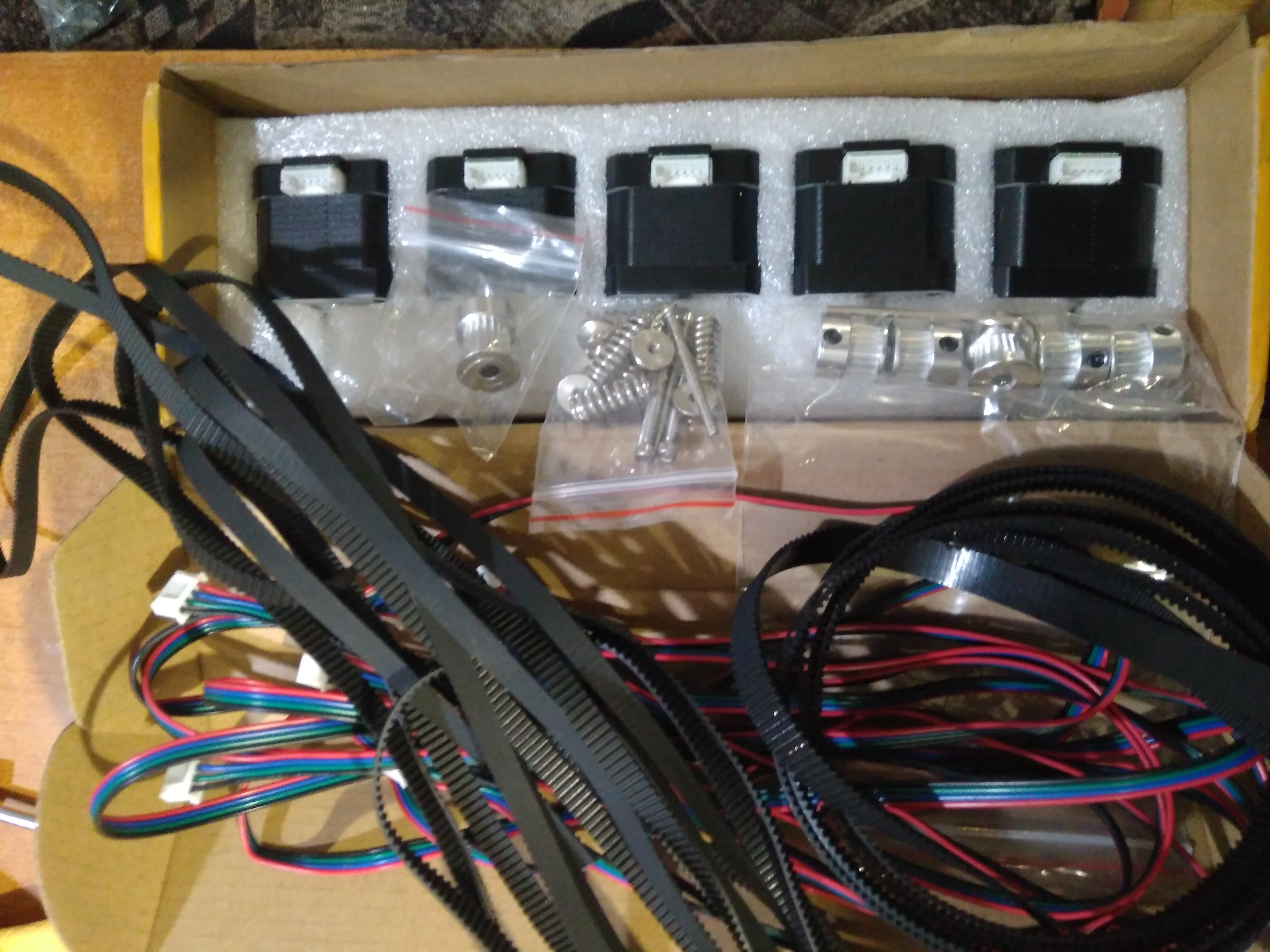 3d printer motor 4 lead Nema17 Stepper Motor 42 motor Nema 17 motor 42BYGH 1.5A (17HS4401) motor for CNC XYZ