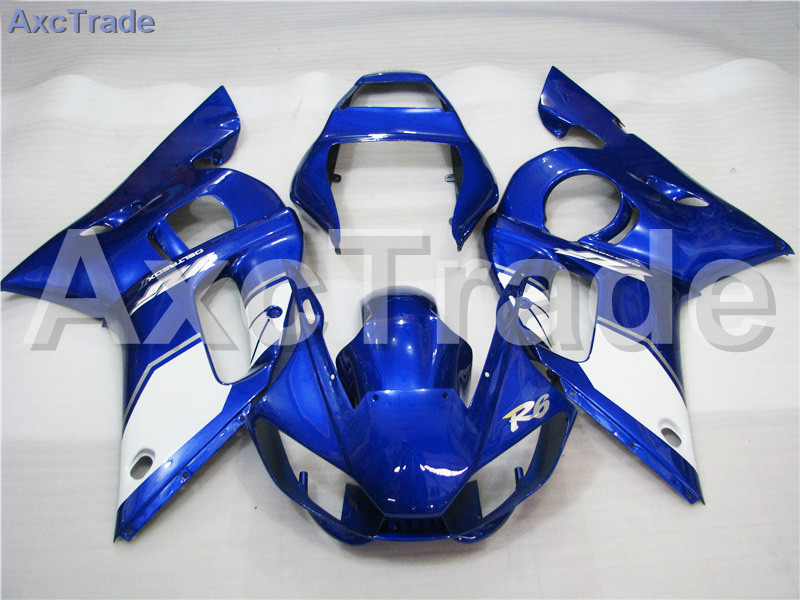 Motorcycle Fairings Kits For Yamaha YZF600 YZF 600 R6 YZF-R6 1998-2002 98 - 02 ABS Injection Fairing Bodywork Kit Blue A422 motorcycle fairings for yamaha yzf600 yzf 600 r6 yzf r6 1998 1999 2000 2001 2002 abs injection molding fairing bodywork kit 116