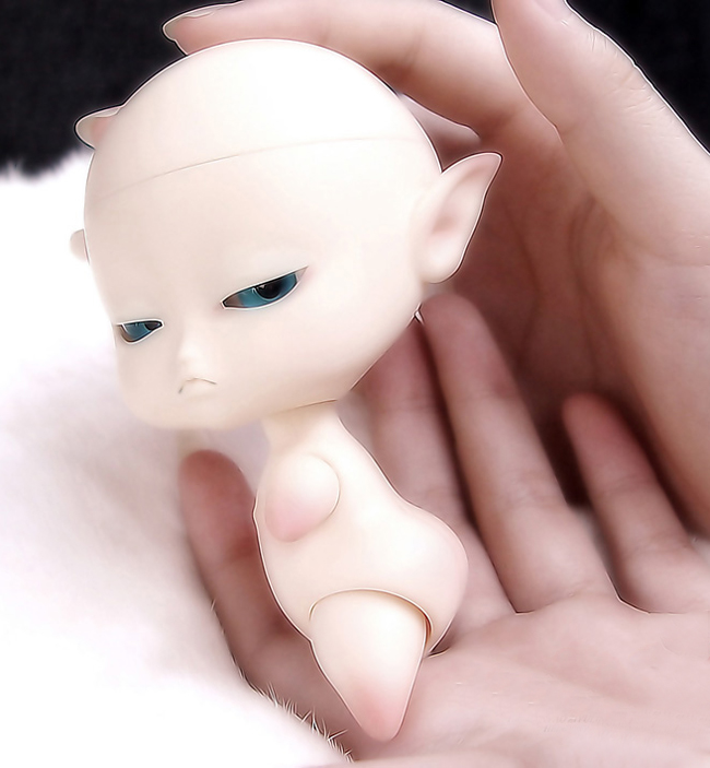 Hehe bjd 팜 인형 1/12 bjd roro 외계인 고품질 장난감 무료 눈 무료 배송-에서인형부터 완구 & 취미 의  그룹 1