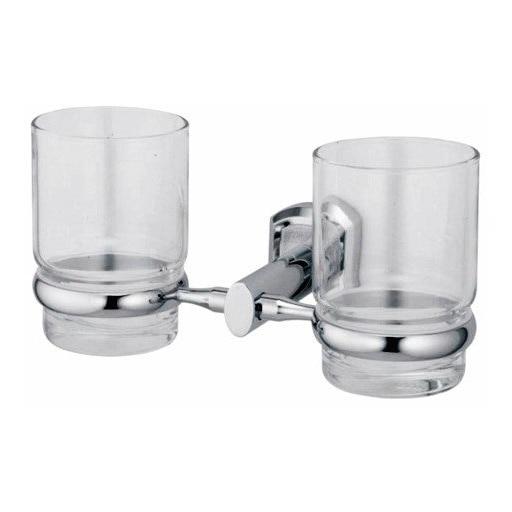Держатель стакана двойной WasserKRAFT Oder K-3028D