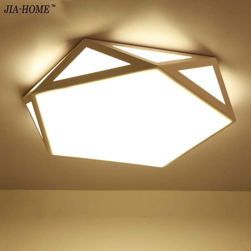 2017 Modern LED Ceiling Lights For Living Room Bedroom 95-265V Indoor lighting Ceiling Lamp Fixture Remote control dimming noosion modern led ceiling lamp for bedroom room black and white color with crystal plafon techo iluminacion lustre de plafond