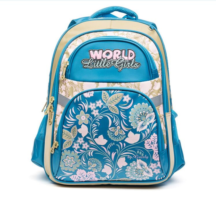 Russia Brand Children School Backpack for Girls Lovely Dog Cats School Bags Orthopedic Bag Fashion Kids Satchel Mochila Infantil