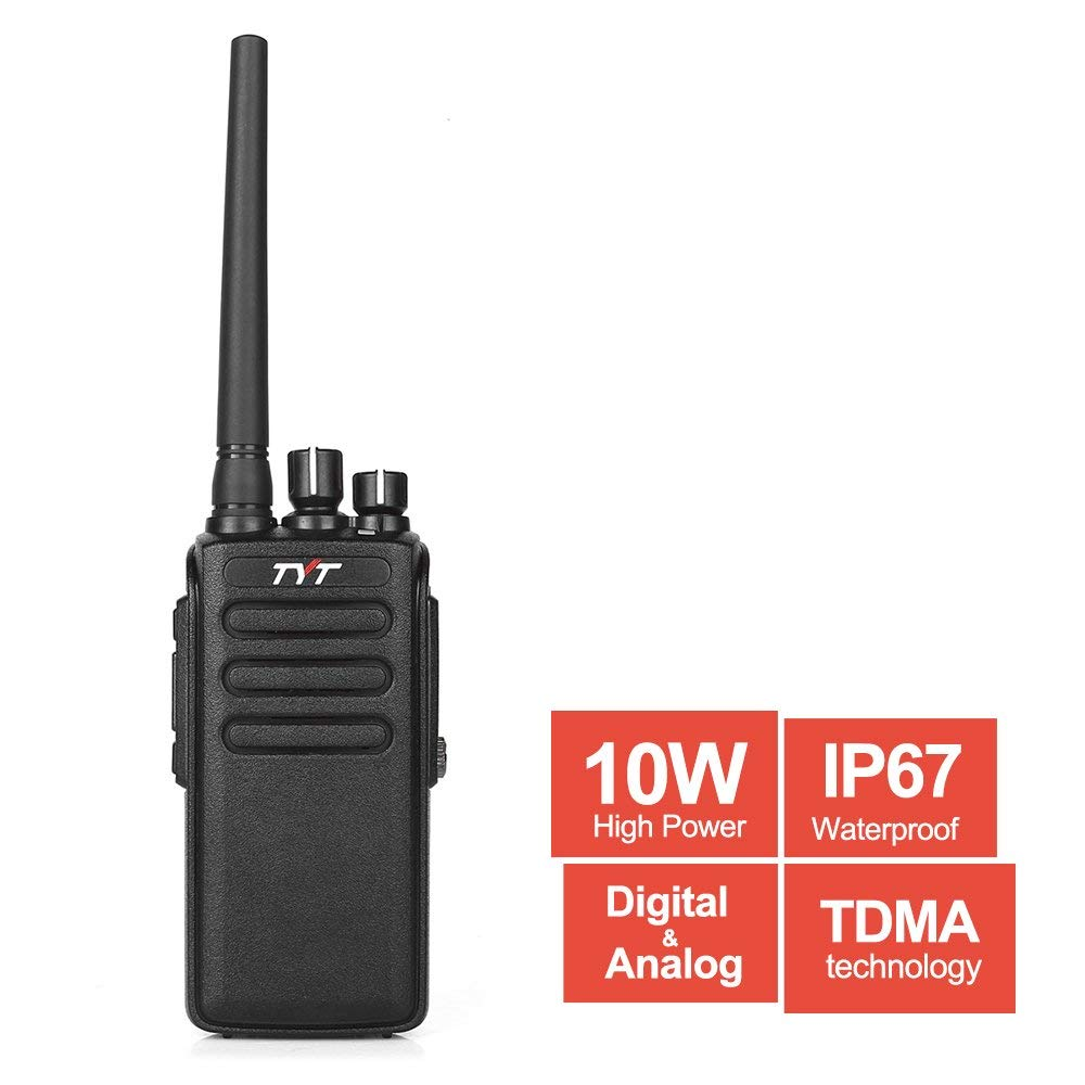 TYT MD-680 waterdichte digitale twee manier radio Ham Walkie Talkie Handheld transceiver 2200 mah batterij UHF 400-470 Mhz DMR 10 W IP67