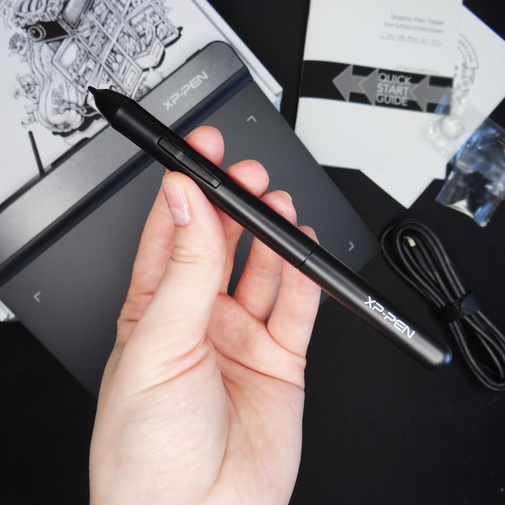 XP-Pen Star G640 Graphics tablet Digital tablet Drawing for OSU and drawing  8192 Levels Pressure 266RPS for beginner kids