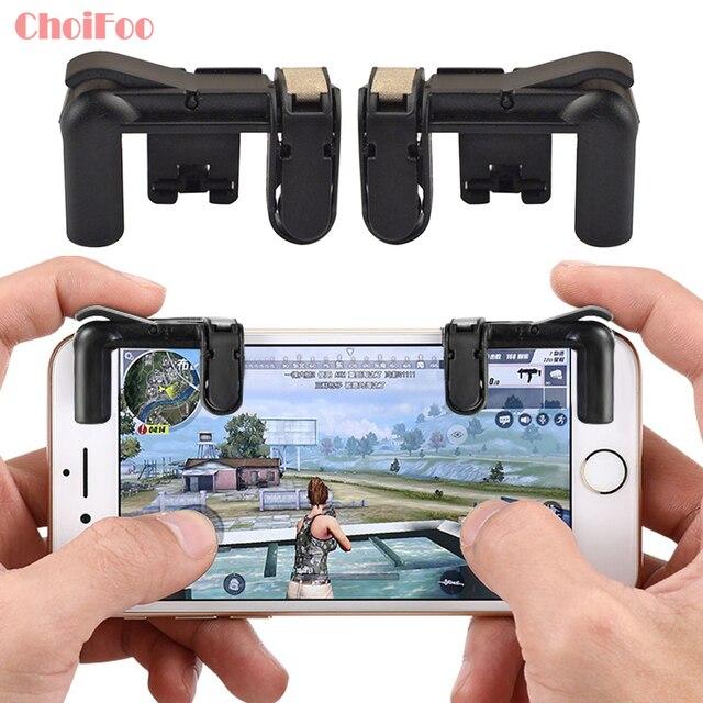 טלפון Gamepad הדק אש כפתור המטרה מפתח חכם טלפון נייד משחקים L1R1 Shooter Pubg בקר V3.0 עבור Iphone Xiaomi