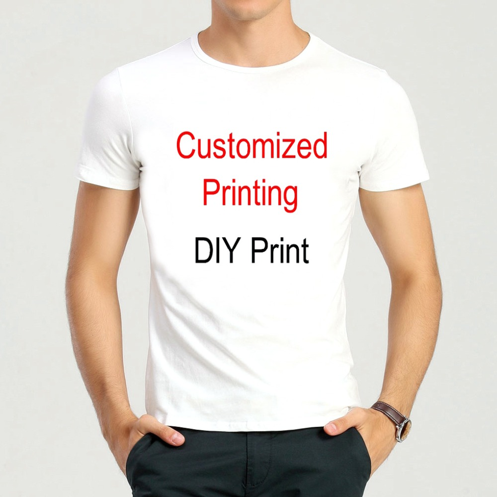 Customized printing short t shirt diy school team for Best online tee shirt printing