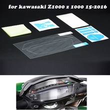 Motorcycle Speedomter Instrument Dash Panel Housing Bezel motorcycle Instrumentation stickers for kawasaki Z1000 z 1000 15-2016