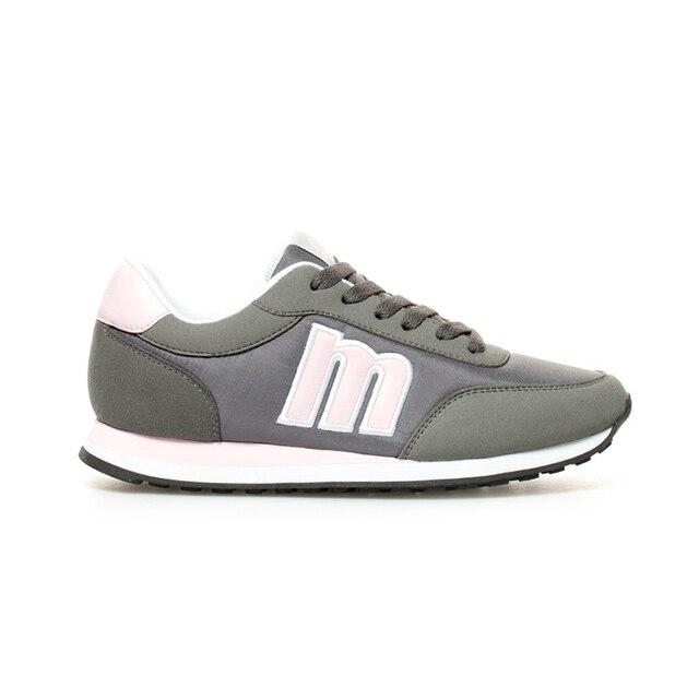 Mustang - Funner gray dark pink shoes