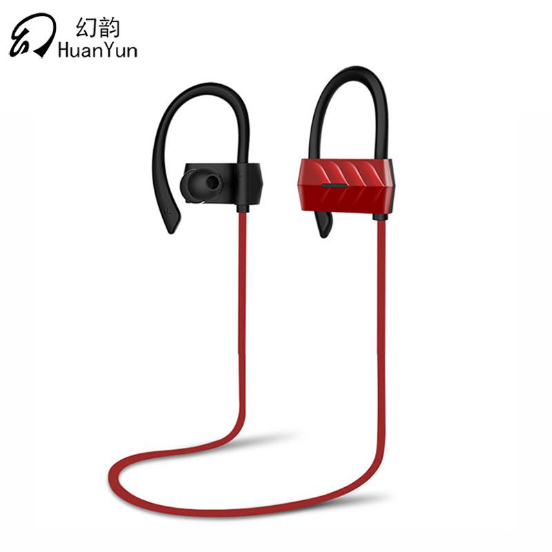 HuanYun Bluetooth Earphone Sport Wireless Ear Hook Bluetooth Headphone Bass Running Headset with mic for phone iPhone xiaomi