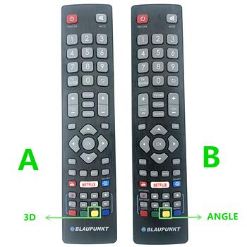Blaupunkt BLF RMC 0008 oryginalny pilot do inteligentnych telewizorów LCD LED 3D HD z przyciskami Netflix Youtube 3D tanie i dobre opinie mingfulai