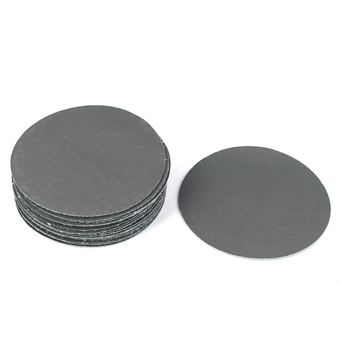 "UXCELL 3"" Dia 3000 Grit Abrasive Round Sanding Disc Sandpaper 20Pcs For Oscillating Tool"