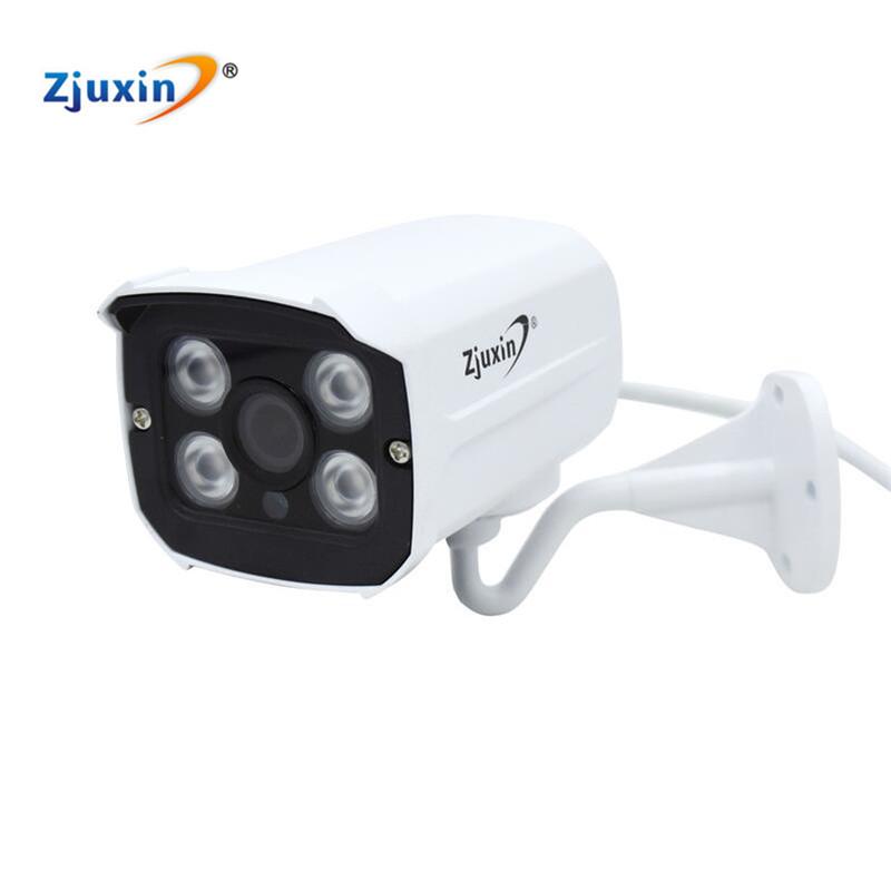 Zjuxin Outdoor 1080P 4MP 5MP SONY IMX323/OV4689/SONY IMX326 AHD CAMERA USE 4 ARRAY LED Waterproof easy to install