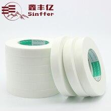 Sinffer 10 мм * 5 м (1 мм) белая мягкая PE белый Губка Двусторонняя сильная липкая самоклеющиеся пены Клейкие ленты крепления Super Sticky