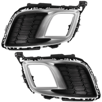 fits MAZDA 6 SPORT 2007 2008 2009 2010 Cover Fog Lights Bezel Driving Lamps Pair Quality