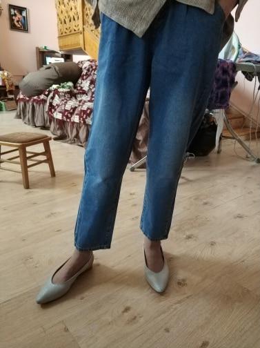 Jeans For Women High Waist   Loose Plus Size  Streetwear Female Denim Harem Pants 5Xl photo review