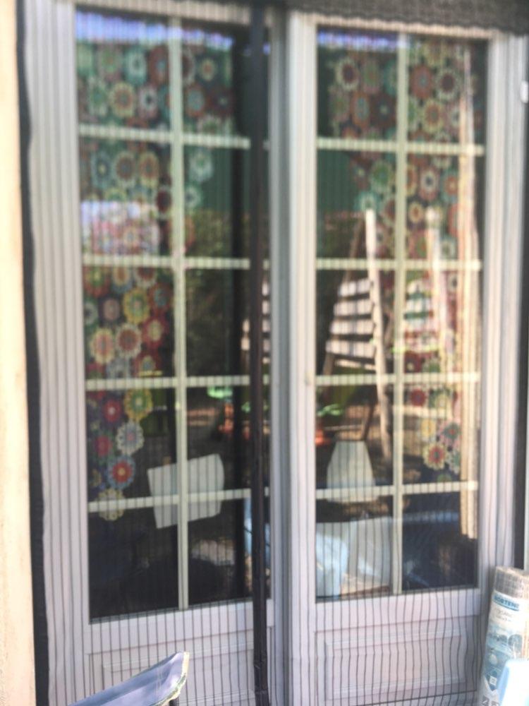 Telas p/ portas e janelas Cortinas Tecido Mosquito