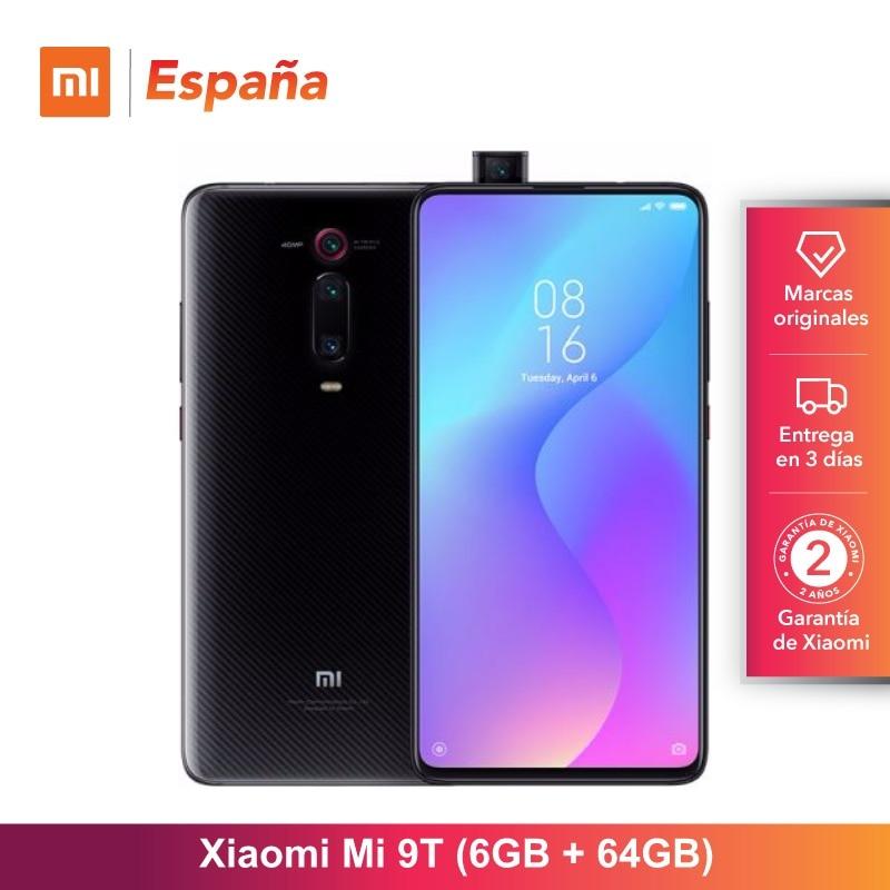 [Version mondiale pour l'espagne] Xiao mi mi 9T (memia interna de 64 GB, RAM de 6 GB, Triple cámara de 48 MP)