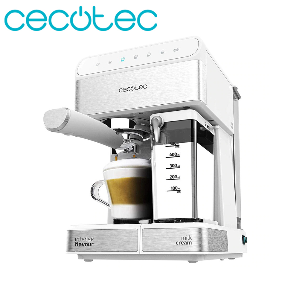 Cecotec Kettle Express Digital Power Instant-ccino 20 Touch Series Bianca