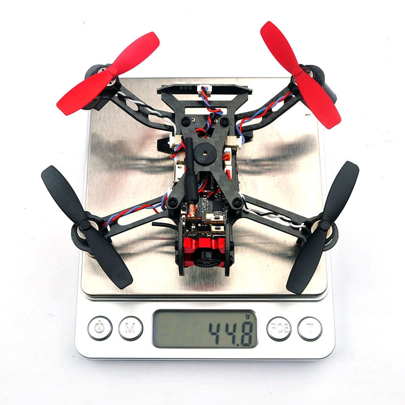 Eachine Vtail QX110 w/ AIOF3PRO_Brushed OSD Betaflight 600TVL CAM Micro FPV RC Racing Racer Drone Quadcopter Toy BNF Model