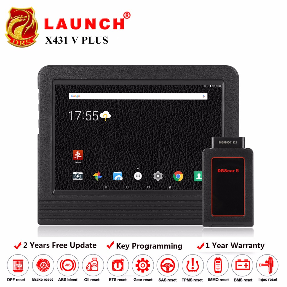 Launch X431 V plus X431 pro3 Automotive Scanner OBD2 Auto Diagnostic Tool Bluetooth Wifi Full Systems Android 7.1 Launch Scanner launch easydiag 2 0 plus automotive obd2 diagnostic tool obdii bluetooth adapter scanner for ios android