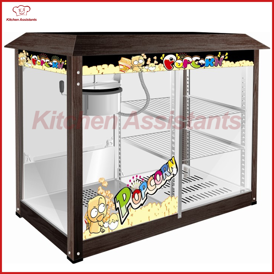 VBG897 8OZ Popcorn Maker Machine Warming Showcase vbg1708 professional automatic popcorn machine maker with big volume 8oz series