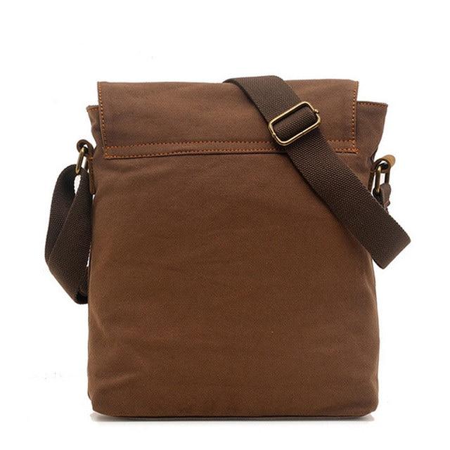 Men's messenger bag men Designer Handbag Canvas Casual Messenger Bag Students school bags 4