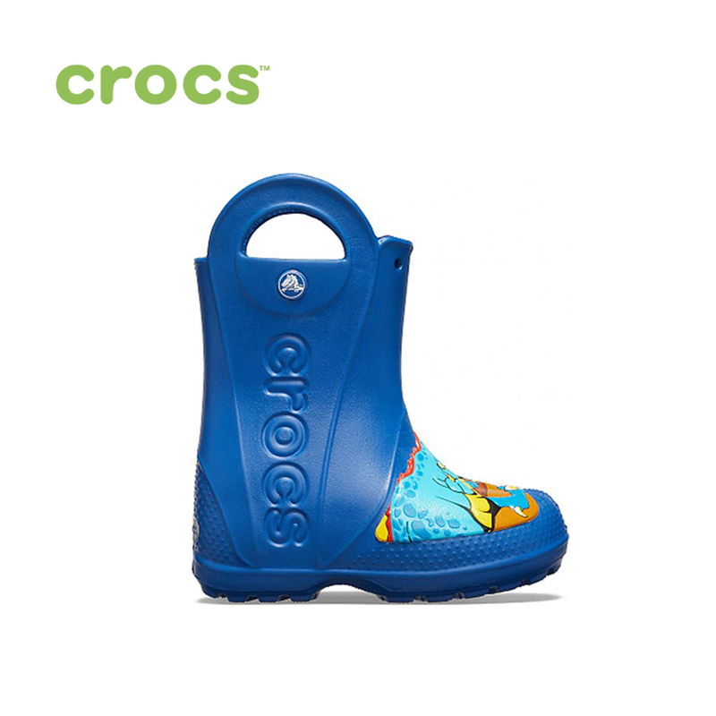 CROCS CrocsFL Dino Rain Boot K KIDS or boys/for girls, children, kids TmallFS shoes